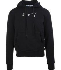 off-white man bolt arrow black hoodie