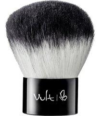 pincel vult kabuki 20 aplicação produto pó e contornos da face
