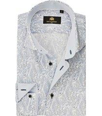 circle of gentlemen overhemd denzell paisley print twill slim fit