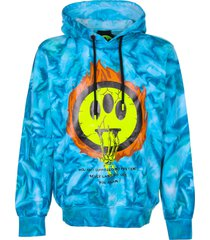 barrow barrow tie dye hoodie