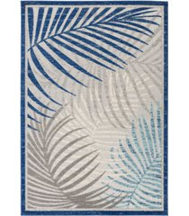 "abbie & allie rugs big sur bsr-2312 navy 6'7"" x 9' area rug"