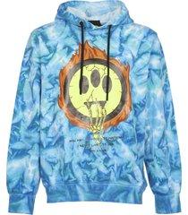 barrow blue hoodie tie-dye
