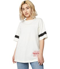 camiseta converse renew oversized white