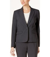 nine west one-button blazer