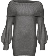 maglione con collo a ciambella (grigio) - bodyflirt