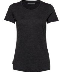 wmns sphere ss low crewe t-shirts & tops short-sleeved svart icebreaker