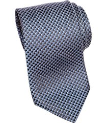 awearness kenneth cole blue check narrow tie
