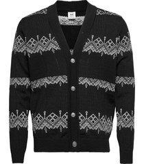 skansen masc jacket gebreide trui cardigan zwart dale of norway