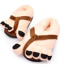 scarpe invernali al chiuso con dita carine