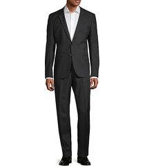 extra slim-fit marzotto anfred wool suit