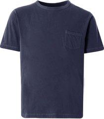 nigel cabourn military pocket t-shirt | black navy |ncj-52 nvy