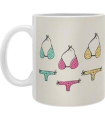 deny designs allyson johnson bikini coffee mug