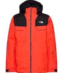 m fourbarrel tri jkt outerwear sport jackets röd the north face