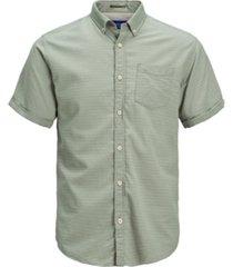 jack & jones men's classic solid summer short sleeve shirt