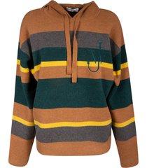 j.w. anderson striped hoodie