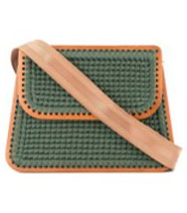 0711 bolsa tiracolo grande - verde