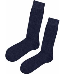 calzedonia - short socks with cashmere, 42-43, blue, men