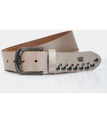 cinturón unifaz de cuero taches