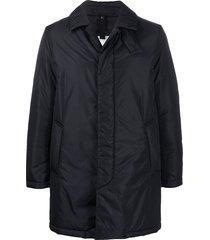mackintosh thermal short coat - black