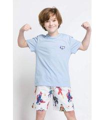 pijama e camisola acuo pijama e camisola bege - bege - menino - dafiti