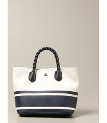 lauren ralph lauren tote bags lauren ralph lauren shopping bag in canvas