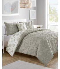 beach island 4-pc. king reversible duvet cover set bedding