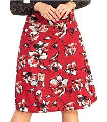 falda flowers vino para mujer croydon