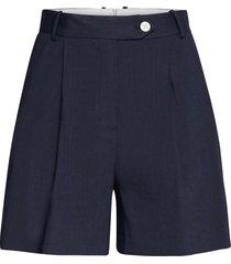 d2. stretch linen shorts shorts chino shorts blå gant
