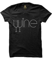 camiseta manga curta joss wine masculina