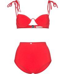 araks myriam mallory high-waisted underwired bikini set