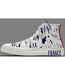 france national football team by you - chuck 70 high top