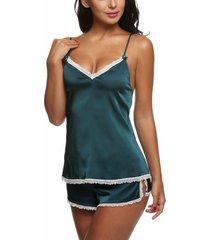 pajama set womens lingerie underwear nightwear plus size shorts sleepwear nighty