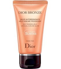 autobronzeador facial dior - dior bronze self-tanning face gel 50ml