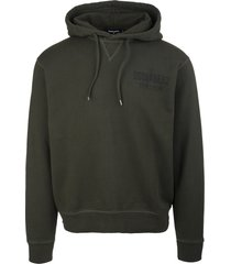 dsquared2 man military green ceresio9 cool hoodie