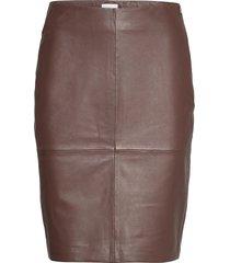 2nd cecilia kort kjol brun 2ndday