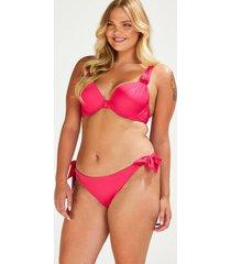 hunkemöller rio deluxe bikiniunderdel rosa
