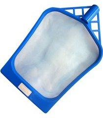 peneira plástica para piscina cata folha