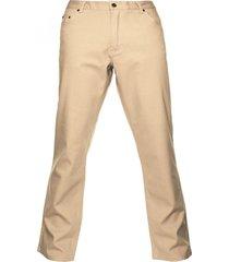 pantalón 5 bolsillos algodón spandex beige mcgregor