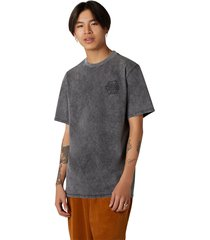 converse camiseta fashion cut and sew black