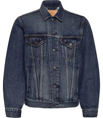 vintage fit trucker v. roamer jeansjack denimjack blauw levi´s men
