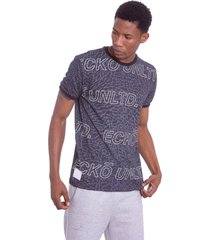 camiseta ecko especial preta