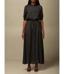 zadig & voltaire dress zadig & voltaire long dress in satin