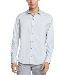 dkny men's french-placket shirt