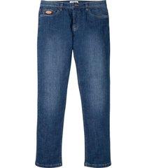 jeans elasticizzati classic fit tapered (blu) - john baner jeanswear