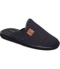 ricard slippers tofflor blå hush puppies