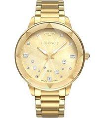 relógio technos crystal feminino