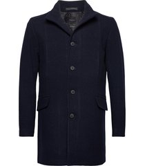 slhmorrison wool coat b noos yllerock rock blå selected homme
