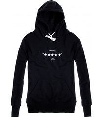 bluza hoodie classic unfvckinreal black