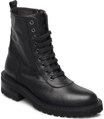 ronja shoes boots ankle boots ankle boot - flat svart notabene