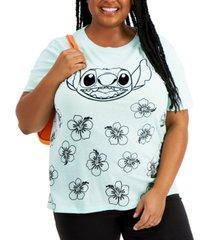freeze 24-7 trendy plus size stitch graphic t-shirt